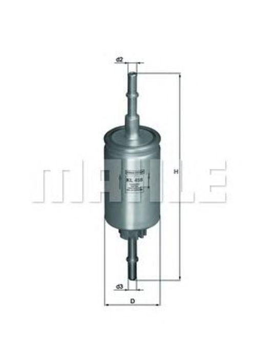 MAHLE / KNECHT Kraftstofffilter KL 458 ( KL458 )