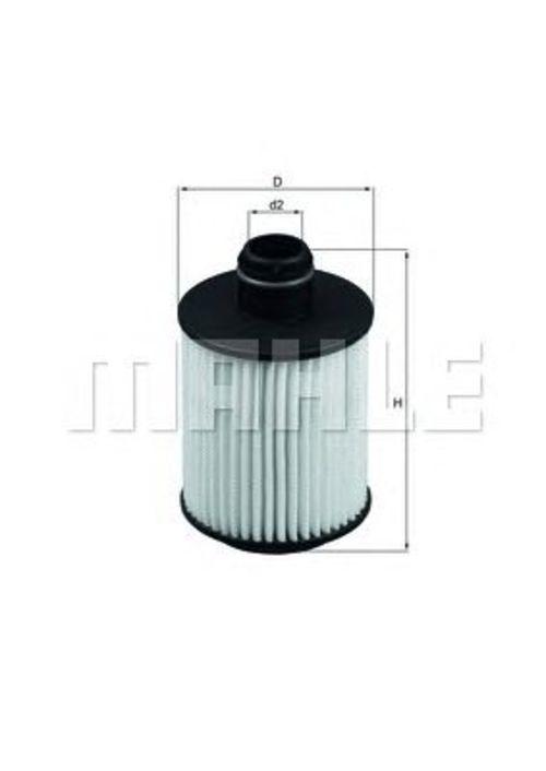 MAHLE / KNECHT Ölfilter OX 559D ( OX559D )