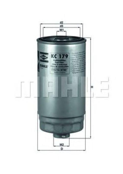 MAHLE / KNECHT Kraftstofffilter KC 179 ( KC179 )