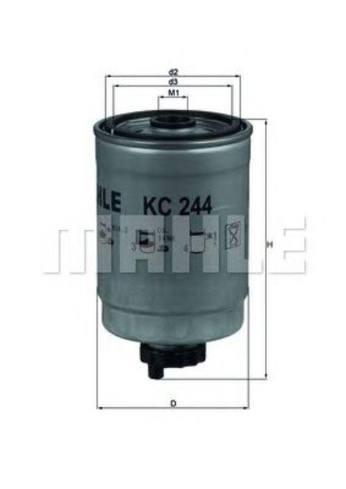 MAHLE / KNECHT Kraftstofffilter KC 244 ( KC244 )