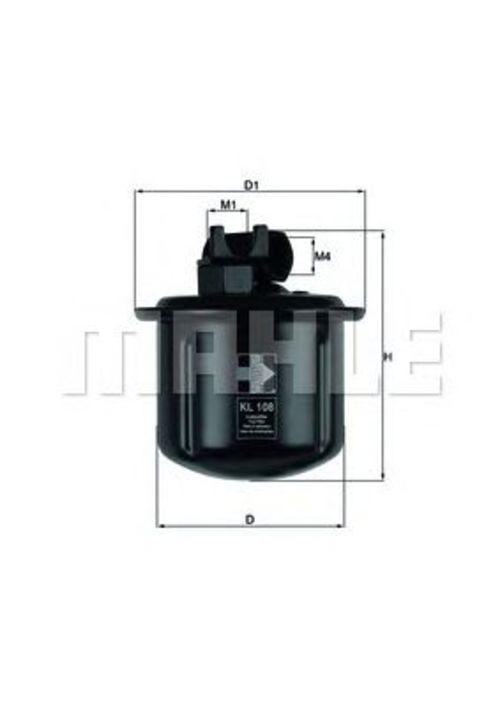 MAHLE / KNECHT Kraftstofffilter KL 108 ( KL108 )