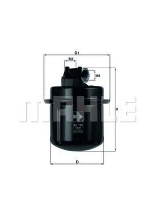 MAHLE / KNECHT Kraftstofffilter KL 109 ( KL109 )