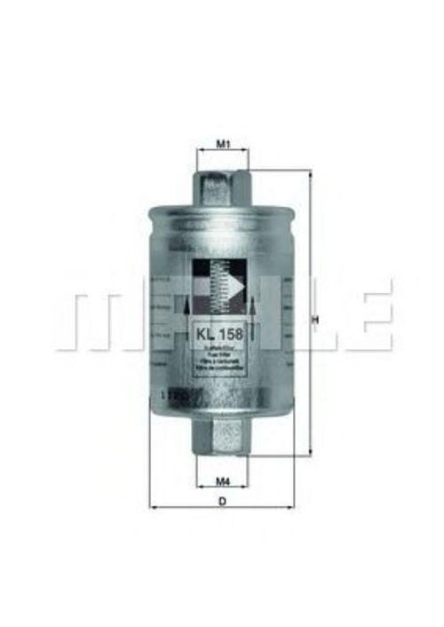 MAHLE / KNECHT Kraftstofffilter KL 158 ( KL158 )