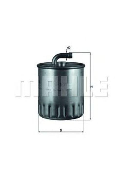 MAHLE / KNECHT Kraftstofffilter KL 179 ( KL179 )