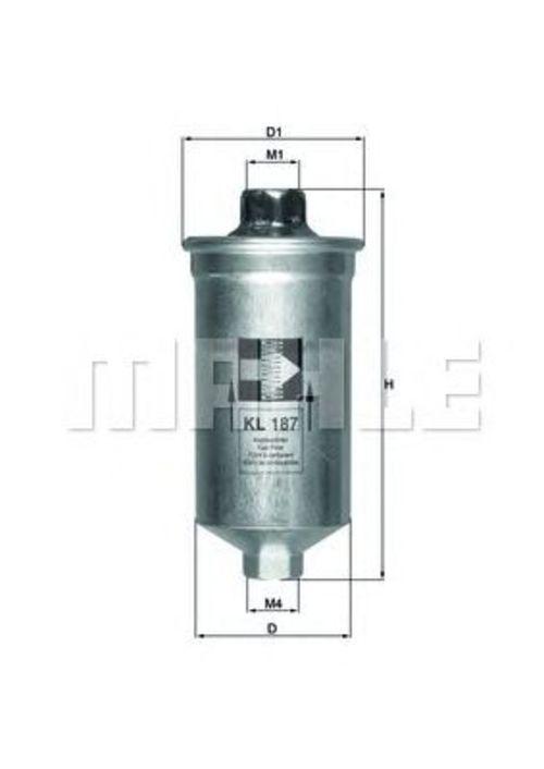 MAHLE / KNECHT Kraftstofffilter KL 187 ( KL187 )