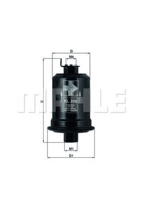 MAHLE / KNECHT Kraftstofffilter KL 209 ( KL209 )