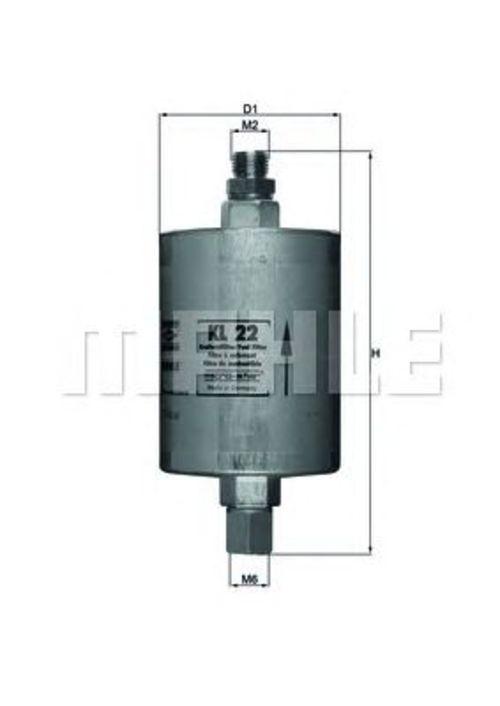 MAHLE / KNECHT Kraftstofffilter KL 22 ( KL22 )