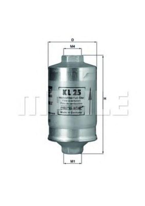 MAHLE / KNECHT Kraftstofffilter KL 25 ( KL25 )