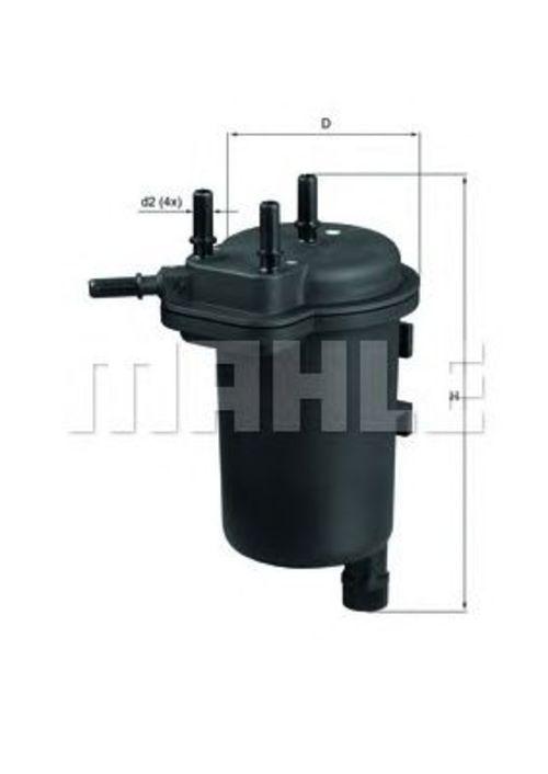 MAHLE / KNECHT Kraftstofffilter KL 430 ( KL430 )