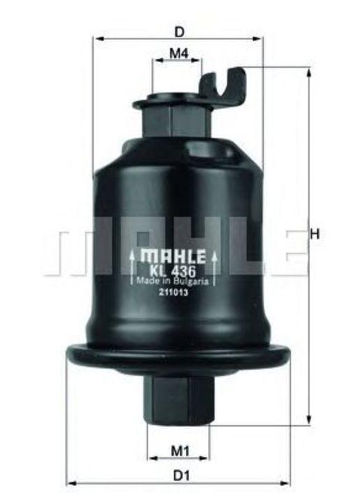 MAHLE / KNECHT Kraftstofffilter KL 436 ( KL436 )