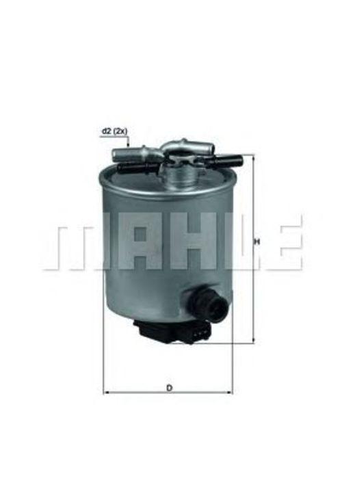 MAHLE / KNECHT Kraftstofffilter KL 440/14 ( KL440/14 )