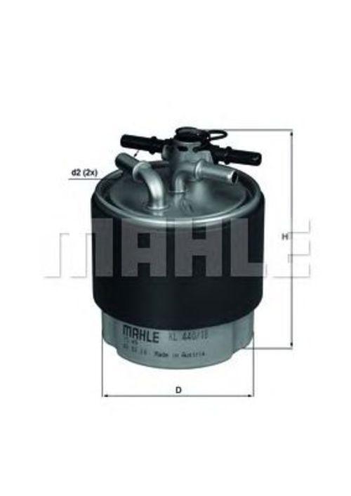 MAHLE / KNECHT Kraftstofffilter KL 440/18 ( KL440/18 )