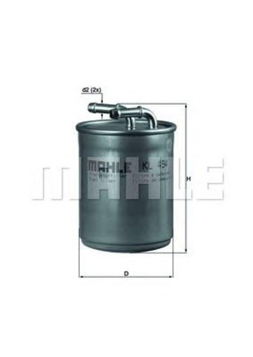 MAHLE / KNECHT Kraftstofffilter KL 494 ( KL494 )