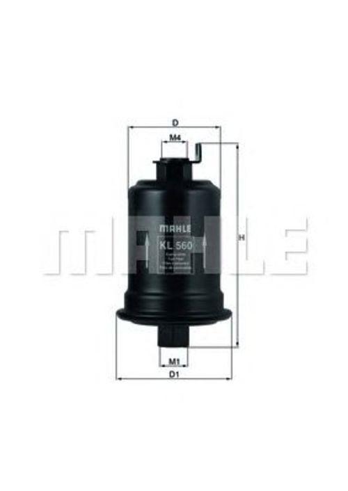 MAHLE / KNECHT Kraftstofffilter KL 560 ( KL560 )