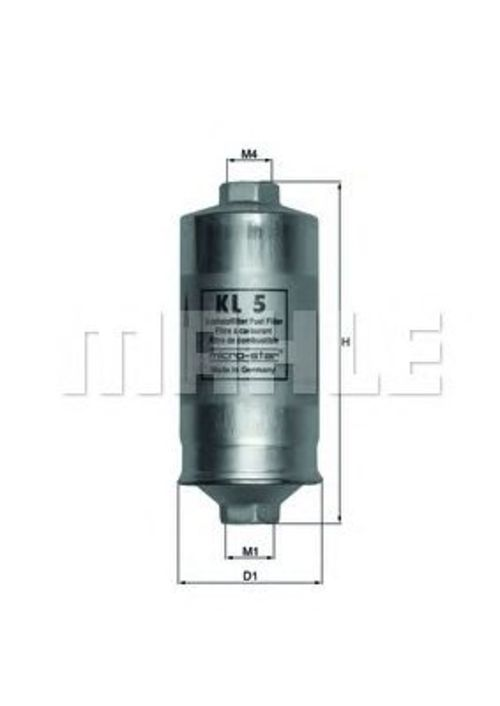 MAHLE / KNECHT Kraftstofffilter KL 5 ( KL5 )