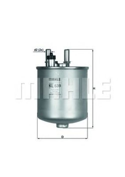 MAHLE / KNECHT Kraftstofffilter KL 639D ( KL639D )