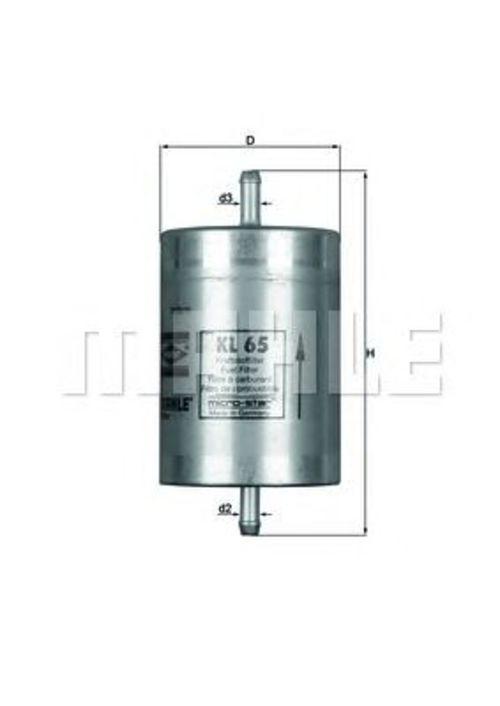 MAHLE / KNECHT Kraftstofffilter KL 65 ( KL65 )