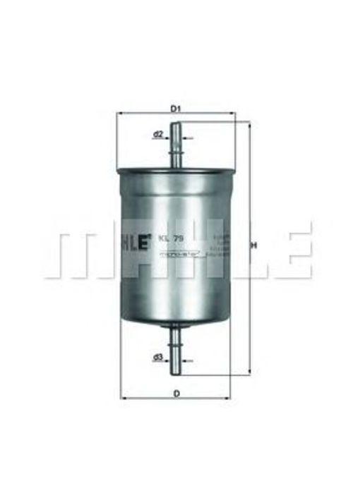 Kraftstofffilter KNECHT KL 79