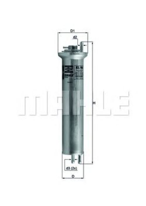 MAHLE / KNECHT Kraftstofffilter KL 96 ( KL96 )