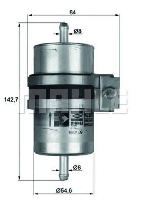 MAHLE / KNECHT Kraftstofffilter KLH 29/1 ( KLH29/1 )