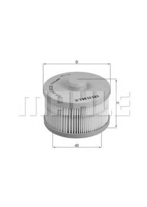 MAHLE / KNECHT Kraftstofffilter KX 266D ( KX266D )