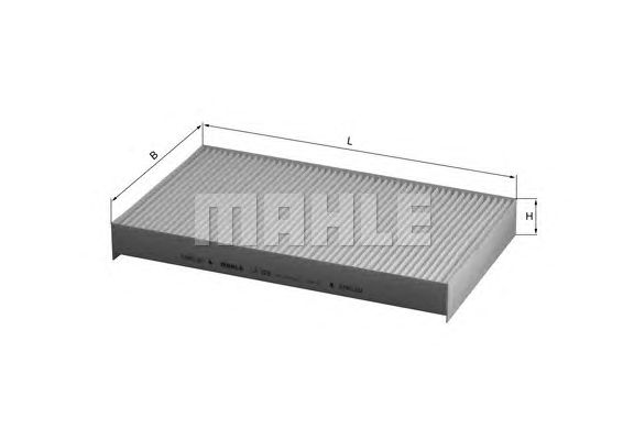 MAHLE / KNECHT INNENRAUMFILTER POLLENFILTER LA 229 ( LA229 )