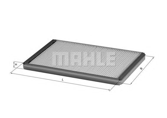 MAHLE / KNECHT INNENRAUMFILTER POLLENFILTER LA 33 ( LA33 )