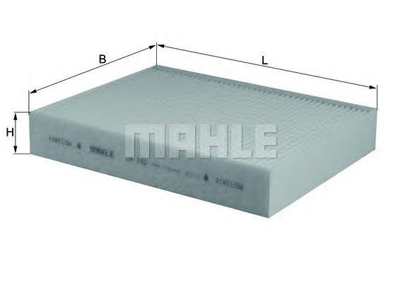 MAHLE / KNECHT INNENRAUMFILTER POLLENFILTER LA 742 ( LA742 )
