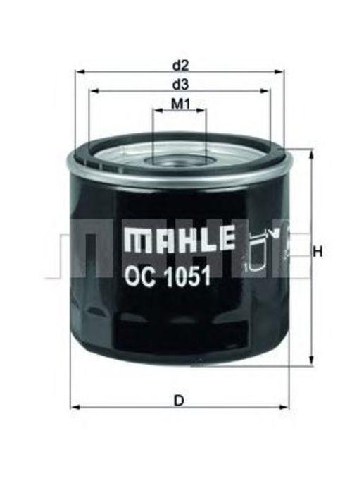 mahle knecht lfilter oc 1051 oc1051. Black Bedroom Furniture Sets. Home Design Ideas