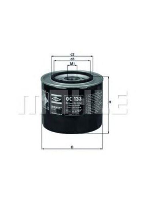 MAHLE / KNECHT Ölfilter OC 133 ( OC133 )