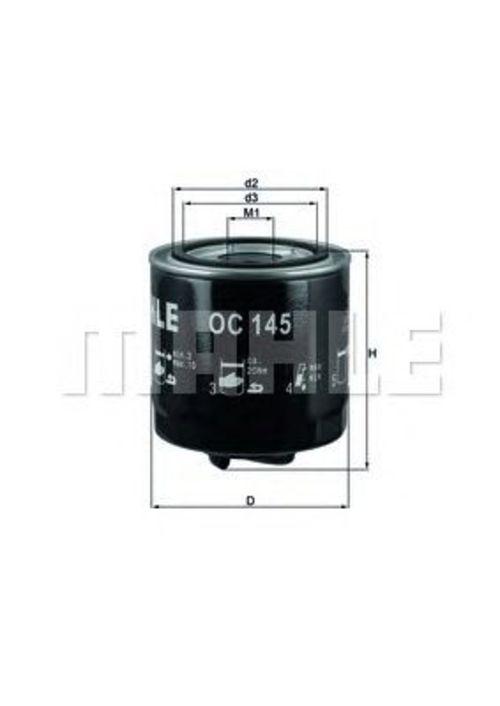 MAHLE / KNECHT Ölfilter OC 145 ( OC145 )