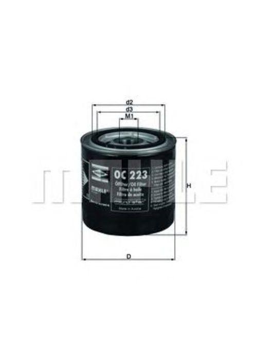 MAHLE / KNECHT Ölfilter OC 223 ( OC223 )