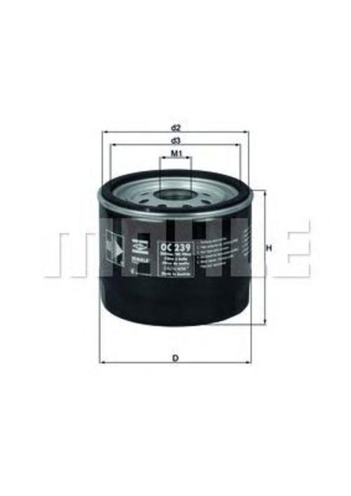 MAHLE / KNECHT Ölfilter OC 239 ( OC239 )