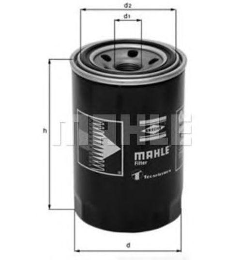 MAHLE / KNECHT Ölfilter HYUNDAI GALLOPER I+II MAZDA B/E-SERIE MITSUBISHI COLT