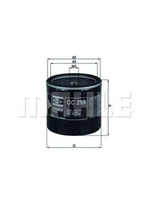 MAHLE / KNECHT Ölfilter OC 299 ( OC299 )