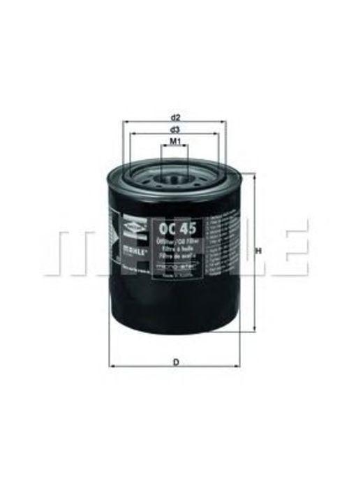 MAHLE / KNECHT Ölfilter OC 45 ( OC45 )