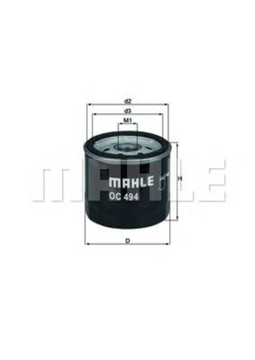 MAHLE / KNECHT Ölfilter OC 494 ( OC494 )