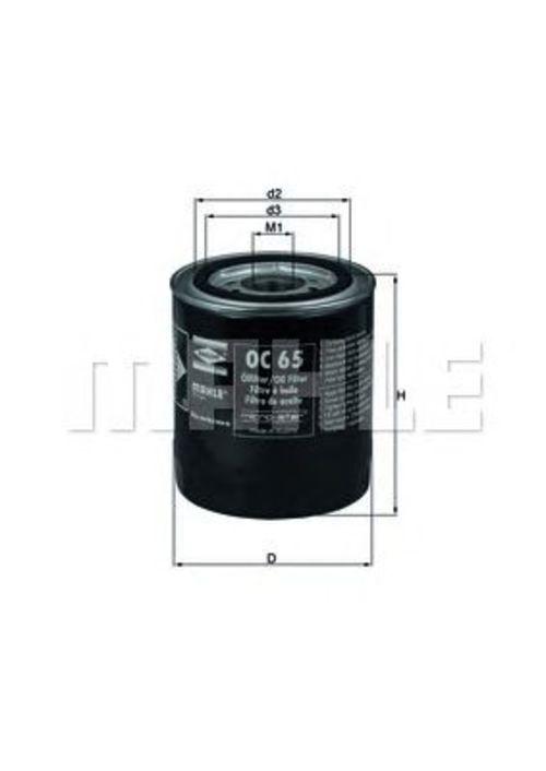 MAHLE / KNECHT Ölfilter OC 65 ( OC65 )