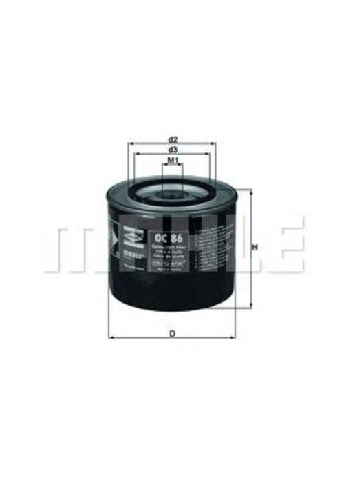 MAHLE / KNECHT Ölfilter OC 86 ( OC86 )