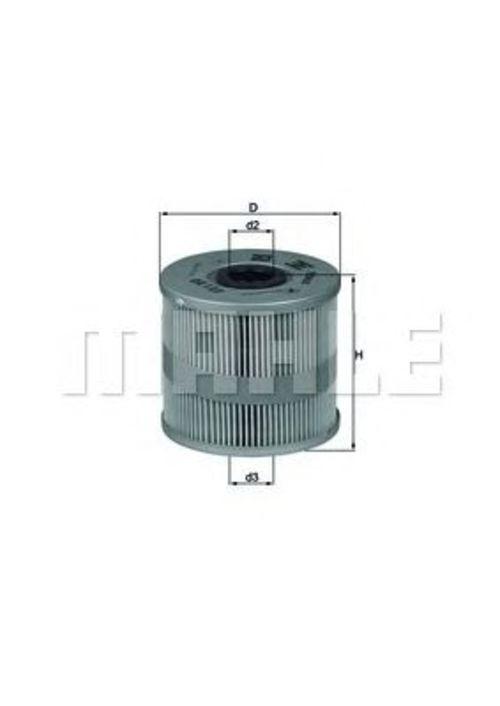 MAHLE / KNECHT Ölfilter OX 122D AUDI A8 4D2 + 4D8