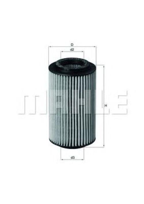MAHLE / KNECHT Ölfilter OX 153/7D2 ( OX153/7D2 )