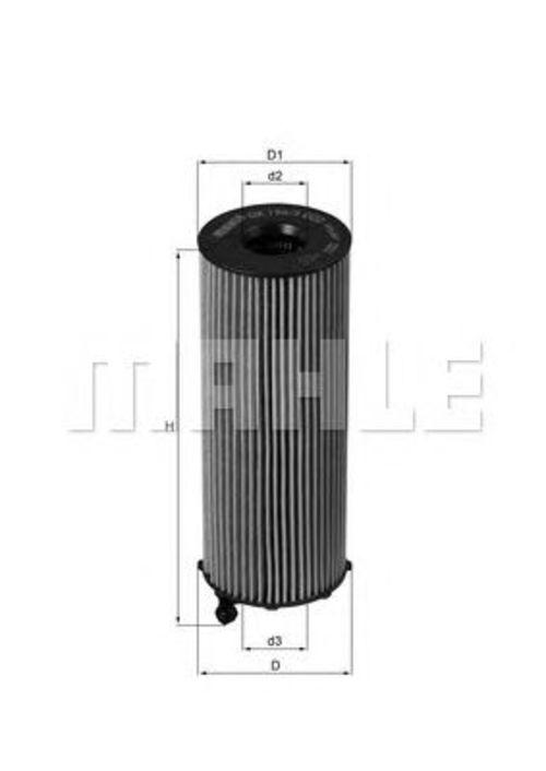 MAHLE / KNECHT Ölfilter AUDI A4 (B7) A6 (C6) A8 (4E_) Q7 (4L) VW TOUAREG (7L)