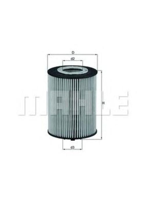 MAHLE / KNECHT Ölfilter OX 367D ( OX367D )