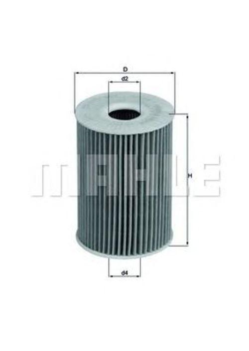 MAHLE / KNECHT Ölfilter OX 415D ( OX415D )