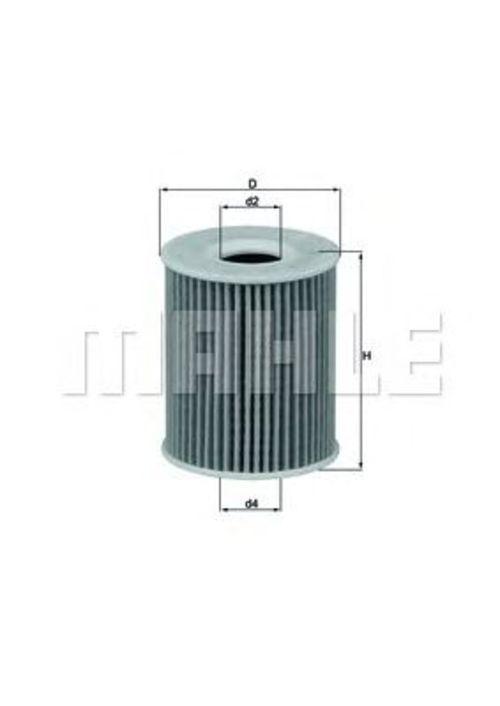 MAHLE / KNECHT Ölfilter OX 424D ( OX424D )