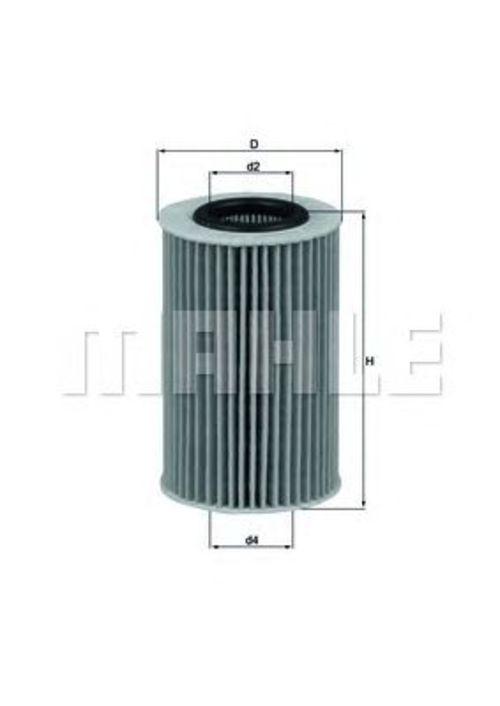 MAHLE / KNECHT Ölfilter OX 436D ( OX436D )