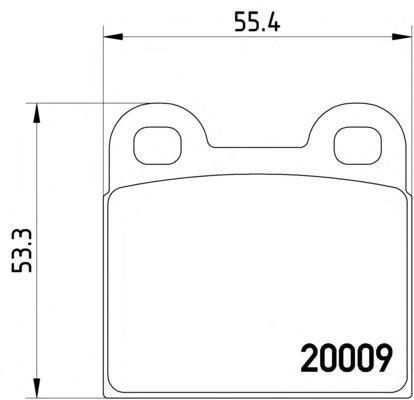 105 115 2x BREMSSATTEL HINTEN LINKS RECHTS ALFA SPIDER CABRIOLET 1600 2000