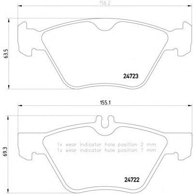 Textar Bremsscheiben Bremsbeläge vorne Mercedes E-Klasse W211 ohne AMG oder Sp